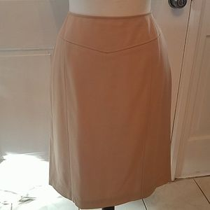 Talbots Tan Skirt